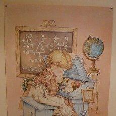 Carteles: POSTER INFANTIL DECORACION - BUSQUETS AÑOS 80/90. Lote 31912672