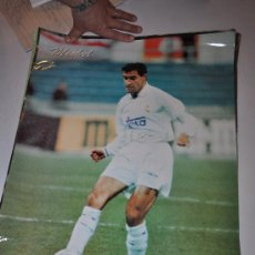 Carteles: POSTER REAL MADRID MICHEL SIEMPRE REAL MADRID. Lote 32022924