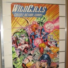Carteles: POSTER WILDC.A.T.S. - MEDIDAS 53 X 90 CM.. Lote 32188257