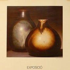 Carteles: LLUIS CASTALDO. 1981. CATALA-ROCA. 33 X 47 CM. MALLORCA. Lote 34314693