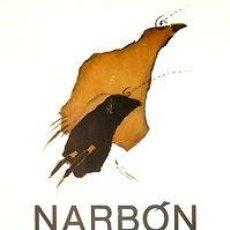 Carteles: CARTEL NARBON. MUSEO EXTREMEÑO DE ARTE. 1982. ESPAÑA. CACERES. 35X57. Lote 34362844