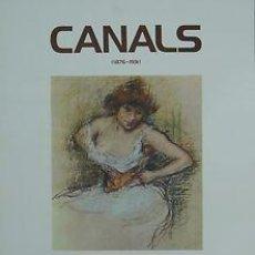 Carteles: CARTEL CANALS ( 1876-1931). 1976. CATALUNYA. BARCELONA. 44X60. Lote 34531879