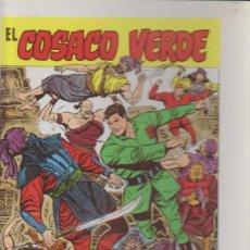 Carteles: ¿CARTEL? EL COSACO VERDE. ALMANAQUE PARA 1961.(30X22,5). Lote 34637682