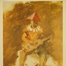 Carteles: CARTEL MANUEL HUMBERT 1978 OLIS I AQUAREL·LES.MANUEL HUMBERT.1978.BARCELONA.. Lote 34874227