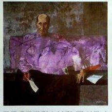 Carteles: CARTEL EXPO. HOMENAJE JUAN RAMON JIMENEZ.1981.VAQUERO. Lote 34920950