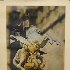 Carteles: CARTEL SANT JORDI 1975.CATALUNYA. BARCELONA. 49X69. Lote 34934319