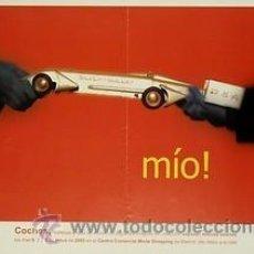 Carteles: MIO! LETERA 2005. 30 X 42 CM. MADRID. Lote 34997283