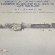 Carteles: CARTEL EXPOSICIÓ IDEES ANTIC ESCORXADOR.1981.SERRAHIMA. Lote 35008086