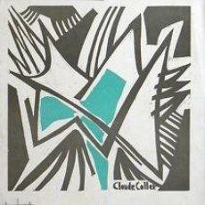 Carteles: CARTEL EXPO. ARTE CRISTIANO ACTUAL.1963.C. COLLET.35X50. Lote 35008102