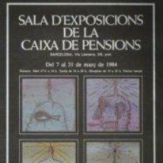 Carteles: CARTEL JOAN PONÇ CAPSES SECRETES.1984.42X63CM.OFFSET.A+. Lote 35053799