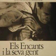 Carteles: CARTEL ELS ENCANTS I LA SEVA GENT.1982.E.IBORRA.42X60CM. Lote 35099242