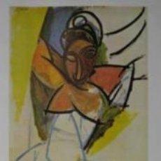 Carteles: CARTEL PICASSO - MUSEU PICASSO.1977. OFFSET. 57X90 CM.. Lote 35139682