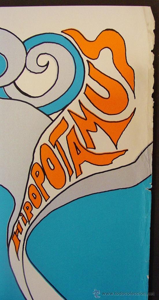 Carteles: POP BOY. HIPOPOTAMUS. POSTERS EGAT. AUTOR: MARC REVER. AÑOS 60. - Foto 4 - 35534277
