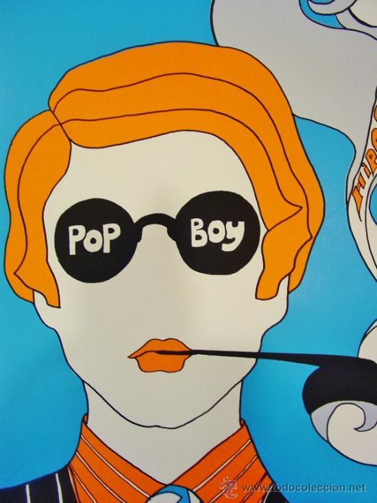 Carteles: POP BOY. HIPOPOTAMUS. POSTERS EGAT. AUTOR: MARC REVER. AÑOS 60. - Foto 6 - 35534277