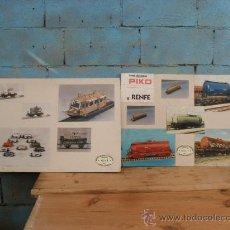 Carteles: 2 CARTELES,PIKO A RENFE,SIERRA DEL GUADARRAMA. Lote 35944142