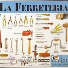 Carteles: CARTEL LA FERRETERIA. 1988. 63X43 CM.. Lote 36017657