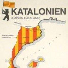 Carteles: CARTEL KATALONIEN.1978. 42X60 CM.. Lote 75753686