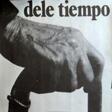 Carteles: CARTEL DELE TIEMPO. C. 196959X92 CM.. Lote 36096291