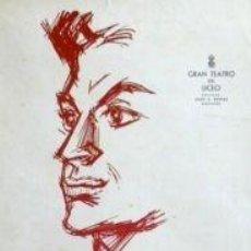 Carteles: CARTEL ANTONIO, BALLET ESPAÑOL.1962.P. CLAPERA.36X53 CM. Lote 36563464