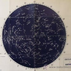 Carteles: CARTEL CONSTELLATION CHART, ON THE NORTHERN SKY. 62X46,. Lote 37120760