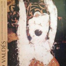 Carteles: MANOLO VALDÉS, CARTEL DE LA EXPOSICIÓN DE 1996. 50X70CM APROX. Lote 37869081