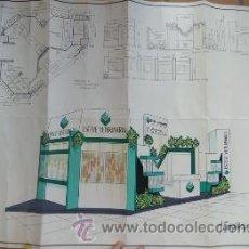 Carteles: CARTEL MAQUETA LABORATORIOS DR. ESTEVE SA VETERINARIA - DE J. CAMPILLO S.L. EXPO 1993. Lote 38735030