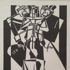 Carteles: CARTEL ORIGINAL DE LA EXPOSICIÓN DE HELIOS GÓMEZ EN EL IVAM , 1998. 43X70 CM. Lote 44386887
