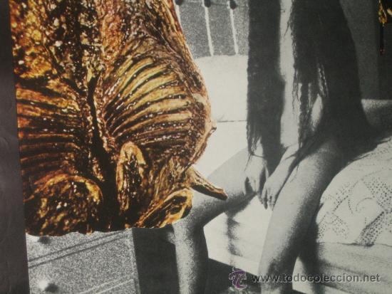Carteles: JOVEN CUIDADO CON LOS PELIGROS DE LA CARNE... CARTEL Nº 633 PACO GAMEZ. MACHETE POSTERS 1977 - Foto 3 - 38218612