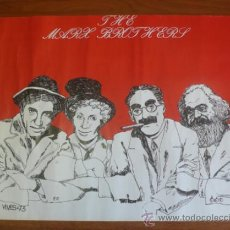 Carteles: CARTEL 'THE MARX BROTHERS', AUTOR: VIVES, 1973. LOS HERMANOS MARX.. Lote 38522515