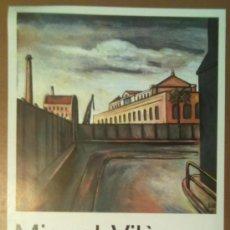 Carteles: CARTEL MIQUEL VILA GALERIA DE ARTE AMBIT BARCELONA 1986. Lote 38579477