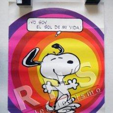 Carteles: PÓSTER DE SNOOPY - YO SOY EL SOL DE MI VIDA - PERSONAJE DE CÓMIC SCHULZ - ARTE CARTEL ARGENTINA 1958. Lote 39514524