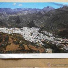 Carteles: CARTEL LA PROVINCIA DE CADIZ A VISTA DE PAJARO UBRIQUE CARTEL-UNICAJA-33. Lote 39540010