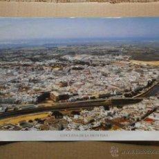Cartazes: CARTEL LA PROVINCIA DE CADIZ A VISTA DE PAJARO CHICLANA DE LA FRONTERA CARTEL-UNICAJA-50. Lote 39540158