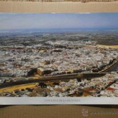 Affissi: CARTEL LA PROVINCIA DE CADIZ A VISTA DE PAJARO CHICLANA DE LA FRONTERA CARTEL-UNICAJA-50. Lote 39540158