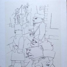 Carteles: CARTEL EXPOSICIÓN GEORGE GROSZ 1992, MUY BUENA EDICIÓN SOBRE PAPEL TIPO ACUARELA. 46X70 CM APROX. Lote 39631197