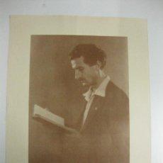 Carteles: CARTEL PROFESOR N. CAPO. 1899-1977.65X50CM.. Lote 39937858