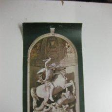 Carteles: CARTELL SANT JORDI. ANDREU ALEU I TEIXIDOR(1832.1901)FAÇANA DEL PALAU DE LA GENERALITAT.1982. 67X32 . Lote 39975188