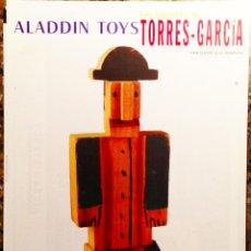 Carteles: CARTEL EXPOSICIÓN TORRES GARCÍA 1997, 50X70 CM APROX ( JUGUETES ). Lote 41013976