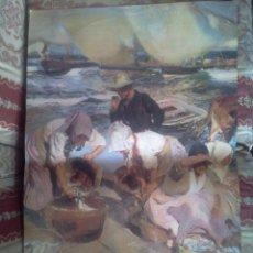 Carteles: CARTEL DE PINTURA DE SOROLLA. ELS SOROLLA DE L'HAVANA. VALENCIA 1985. Lote 41073478