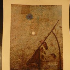Carteles: CARTEL EXPOSICION CUIXART GALERIA ART DE PALAFRUGELL. Lote 41798550