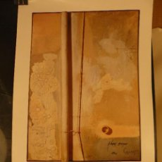 Carteles: CARTEL EXPOSICION CUIXART GALERIA ART DE PALAFRUGELL. Lote 41798744
