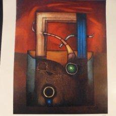 Carteles: CARTEL EXPOSICION CUIXART GALERIA ART DE PALAFRUGELL. Lote 41798860