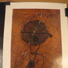 Carteles: CARTEL EXPOSICION CUIXART GALERIA ART PALAFRUGELL. Lote 41798995