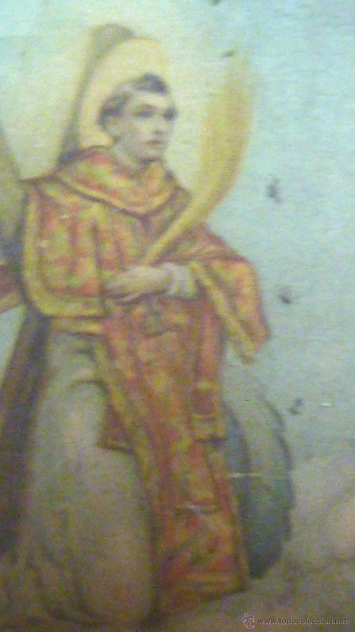 Carteles: cartel papel seda . Recuerdo de la coronación Ntra Sra de los DESAMPARADOS . Valencia 1923 virgen - Foto 6 - 42318242