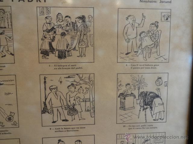 Carteles: AUCA DEL NOI DE RUBÍ DE CASAT I DE FADRÍ. FIRMADA, NUMERADA Y ENMARCADA. 45 X 65 CM. LEER - Foto 4 - 43570606