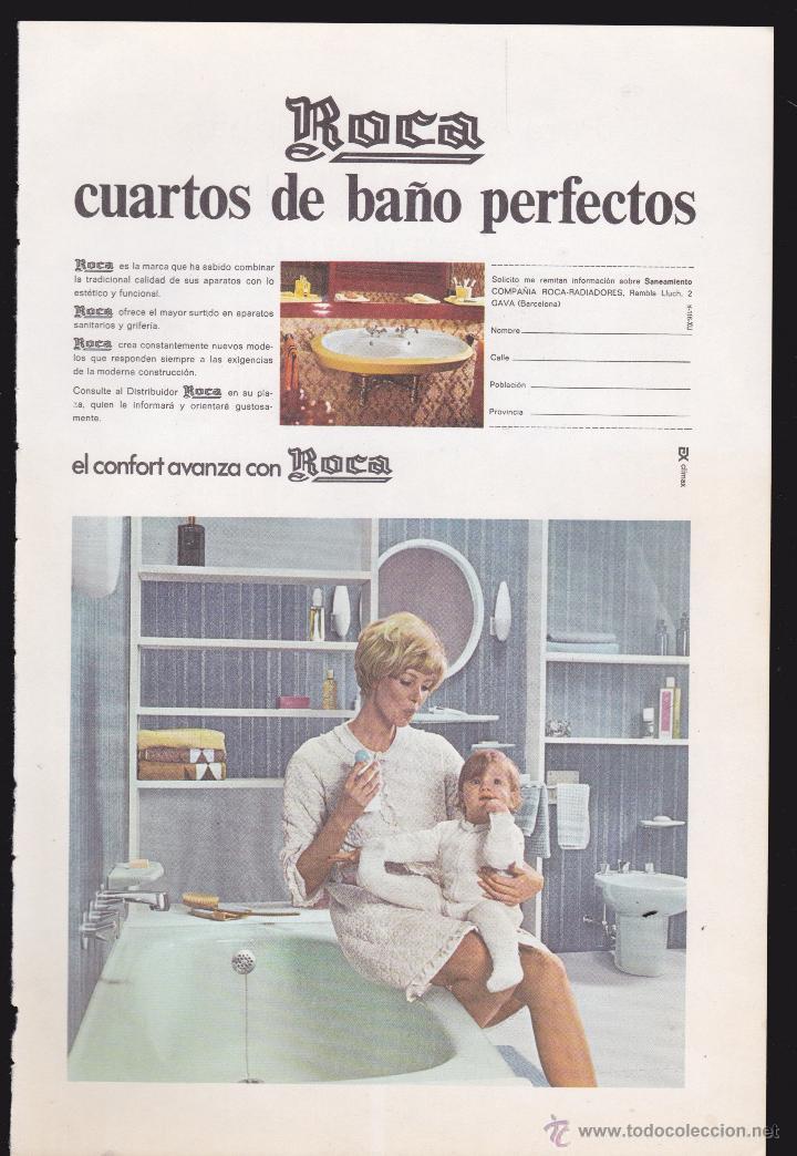publicidad antigua hoja revista roca cuartos de - Comprar en ...