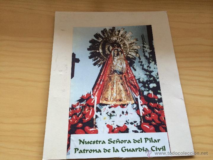 cartel para enmarcar de la virgen del pilar. gu - Comprar en ...