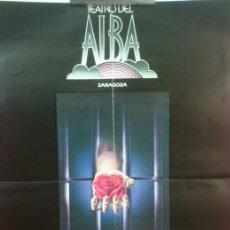 Plakate - CARTEL TEATRO DEL ALBA ZARAGOZA - CANTAR DE BESTIAS - AÑOS 80 - 45097309