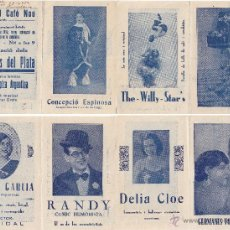 Carteles: THE WILLY STARS. Lote 45146911