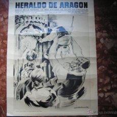 Plakate - CARTEL DE HERALDO DE ARAGON MEDIDAS 55CMX41CM - 45302600